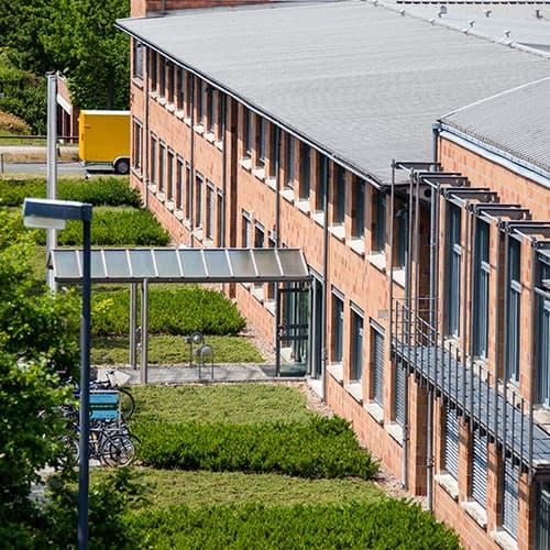 Einzug in das Bremer Innovations- und Technologiezentrum (BITZ